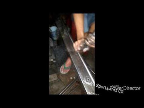 Laras Sharp Tiger Od 13 70cm Baja Lokal proses bikin laras snapan