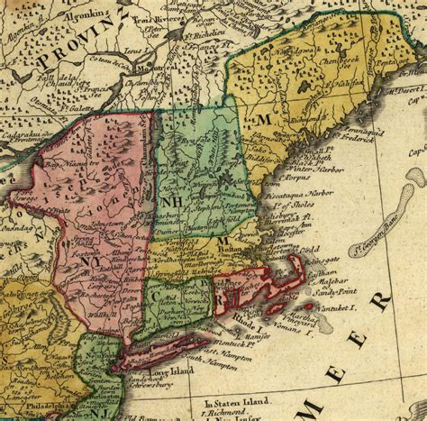 map of the us during the 1700s usa map 1700 images search