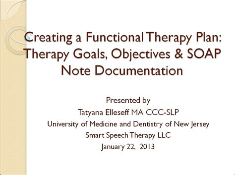 occupational therapy goal setting template new giveaway creating a functional therapy plan therapy