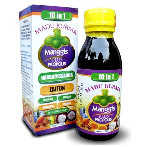 madu kurma manggis xamthone plus propolis 10 in 1 elevenia