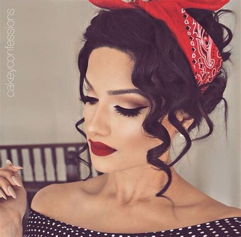 Make Up Dan Hairdo Di Salon best 25 retro makeup ideas on cat eye retro