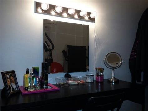 makeup mirror with lights ikea 17 best images about vanity