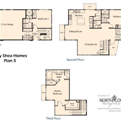 shea homes floor plans v by shea homes in leucadia floor plan 5 north county