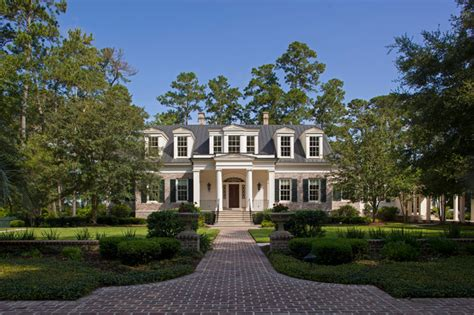 Luxury Mansions Floor Plans greek revival architecture in south carolina
