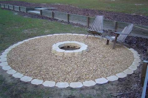 Pebble Pit pit work around the edge and add sand instead of pebbles outdoor spaces