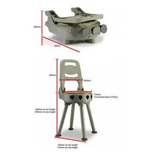 Canvas Folding Chair Stag All Terrain Shooting Seat Folding Ruag Ammotec Uk Ltd