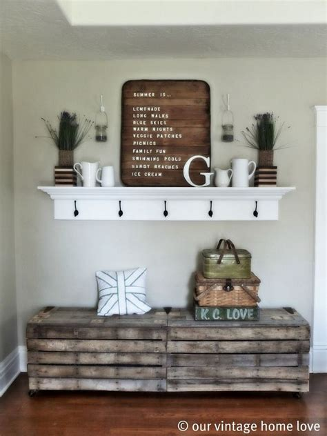 Mantel Shelf Decorating Ideas by Hallway Ideas Receive Your Guests With Summer