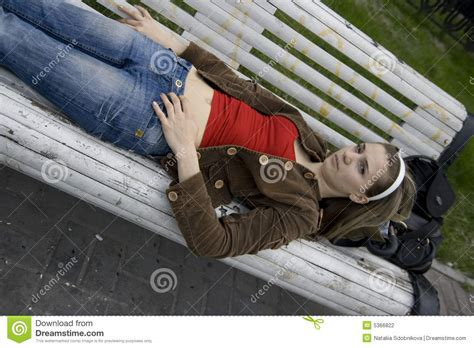 lay bench lay on bench stock photography image 5366822