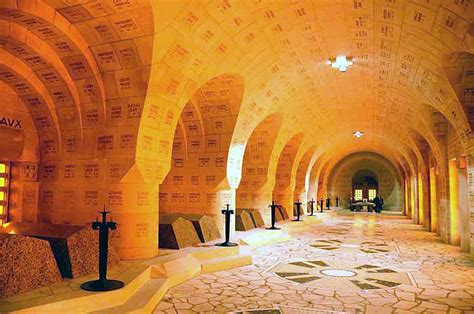 Douaumont Ossuary France   Americans in France