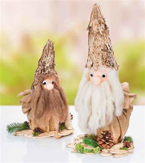 Weihnachtswichtel Filzen Anleitung by Bastelanleitung Herbstlicher Borken Wichtel