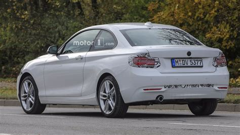 2018 bmw 2 series coupe facelift hiding nip and tuck