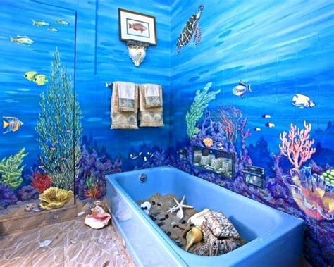 ocean themed bathroom ideas 17 best images about beach scene on walls on pinterest