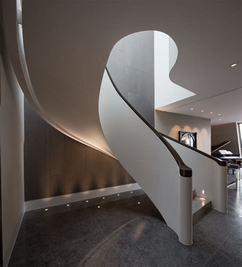 Black Staircase how to use art deco in your interior arkitexture