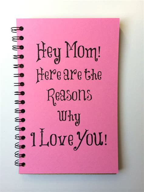 mother gifts birthday gift for mom mothers day gift notebook gift
