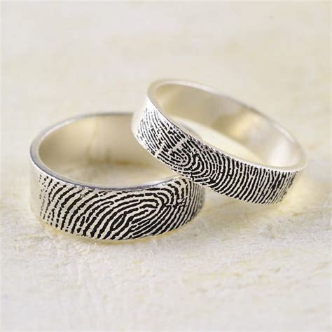 fingerprint ring trend puts personal spin on traditional