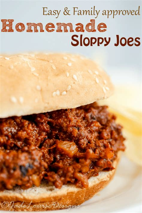recipe for sloppy joes
