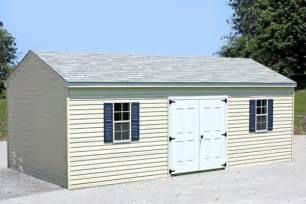 a frame storage shed 10x18