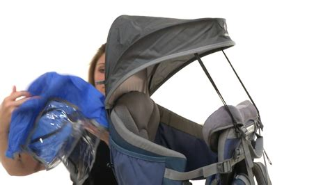 deuter kid comfort sun roof and rain cover deuter sun roof rain cover sku 8352048 youtube