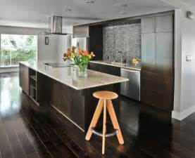 Hardwood Floor Kitchen Wooden Floors On Wooden Floor Modern Kitchens And Floors