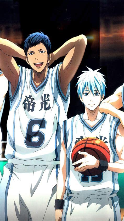 anime basketball list kuroko basketball team anime characters wallpaper