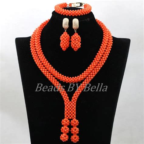 nigerian bridal bead necklaces 50 pictures latest designs 2017 new design handmade coral beads statement necklace