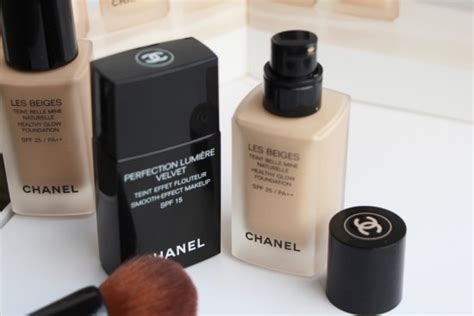 Foundation Chanel chanel foundations les beiges vs perfection lumiere