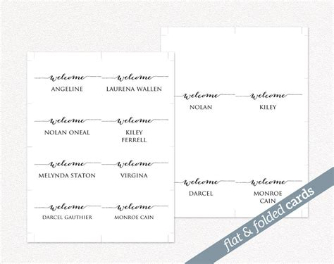 place card templates for great papers 959040 hermosa diy place cards templates galer 237 a ejemplo de