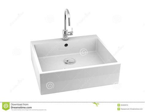 lavandino cucina bianco lavandino di cucina su bianco immagine stock immagine