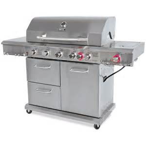 Backyard Grill Gas Conversion Kit Canada Backyard Grill Stainless Steel 6 Burner Propane Gas Grill