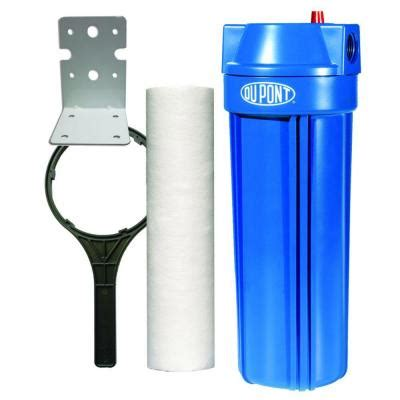 dupont standard whole house water filtration system