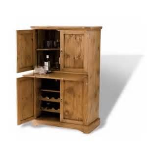 Clifford oak drinks cabinet