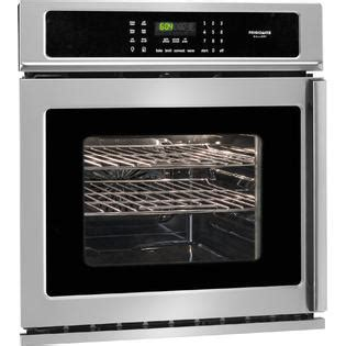 side swing oven frigidaire gallery fgew276spf 27 quot side swing reversing