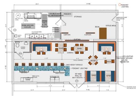 floor plan bar bar and restaurant floor plan