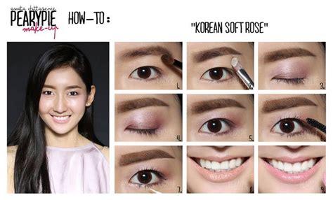 download video tutorial makeup natural korea how to korean soft rose makeup korean korea natural