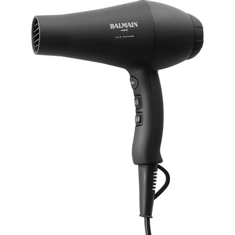 Hair Dryer By by Balmain Hair Infrared Hair Dryer Black Free Shipping