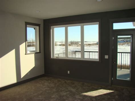 basement is a home to wide cinemascope home spec homes cornerbrook homes leduc home builder