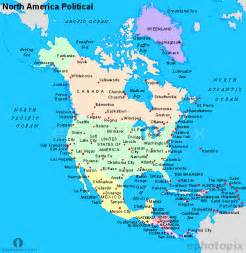 Political Map Of North America by Pics Photos North America Political Map