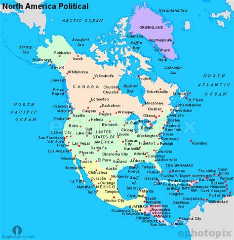 n america map america political map political map of