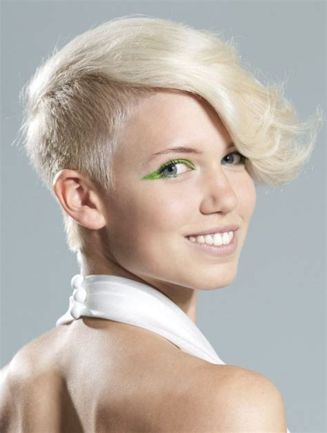 side cuts short hair celebrity trend 12 amazingly feminine side shaved