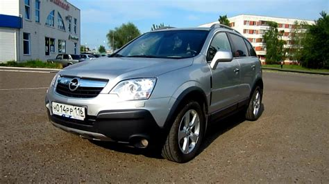 opel antara 2008 2008 opel antara start up engine and in depth tour