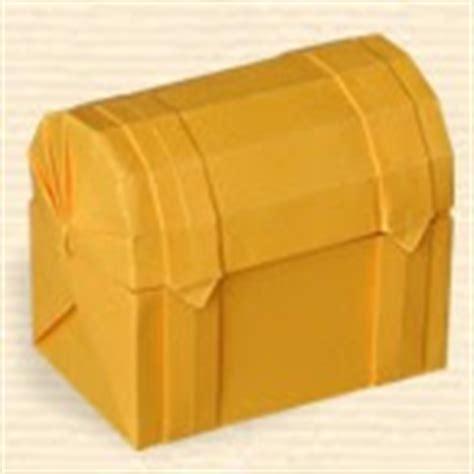 Origami Treasure Chest - origami central oriland treasure chest diagram request