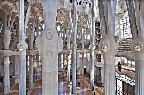 sagrada familia interno gallery of ad classics la sagrada familia antoni gaudi 15