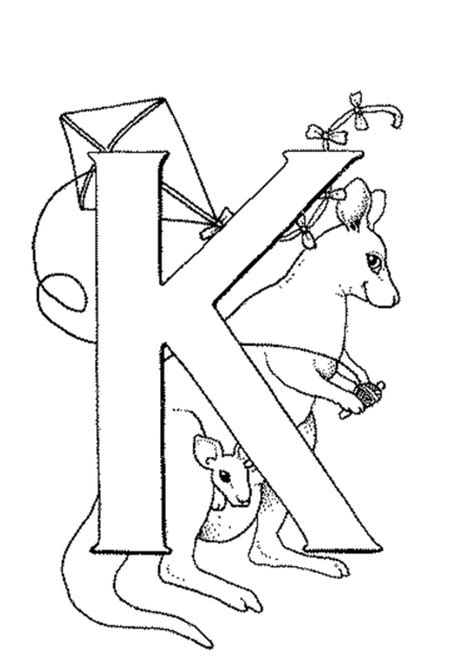 letter k worksheets and coloring pages preschool pinterest
