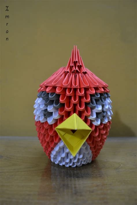 3d Origami Cupcake - 3d origami cake ideas and designs