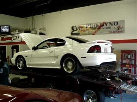 mustang gt dyno 98 mustang gt getting dyno tuned