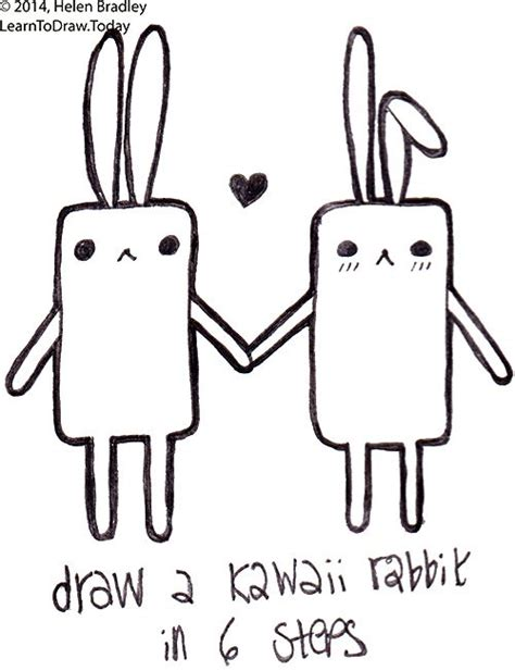 how to draw a doodle bunny the world s catalog of ideas