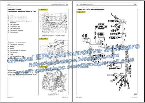 iveco daily 2000 2006 repair manual wiring diagrams