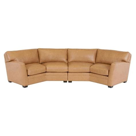 classic leather sectional classic leather fletcher sectional fletcher leather