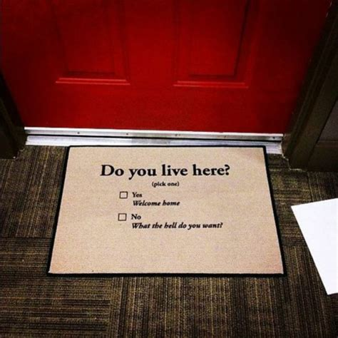 Funny Door Mat by Jewels Doormat Funny Cute Weheartit Life House Flat