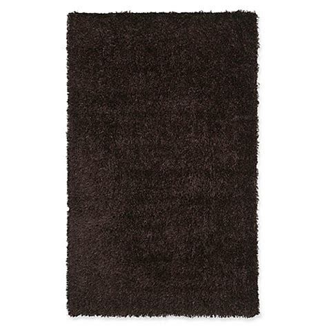 new orleans rugs buy safavieh new orleans 5 foot x 8 foot shag area rug in chocolate from bed bath beyond